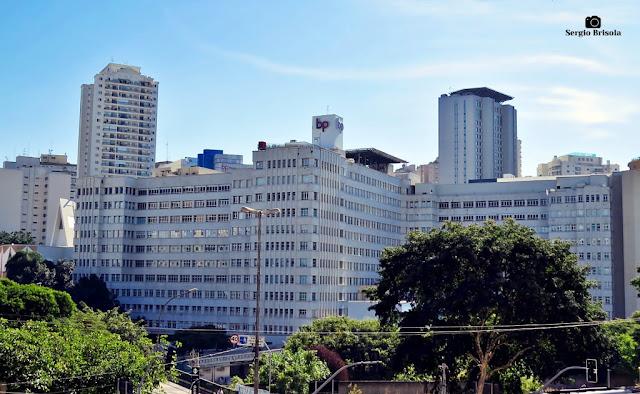 Vista ampla da Beneficência Portuguesa - Hospital de São Joaquim - Bela Vista - São Paulo