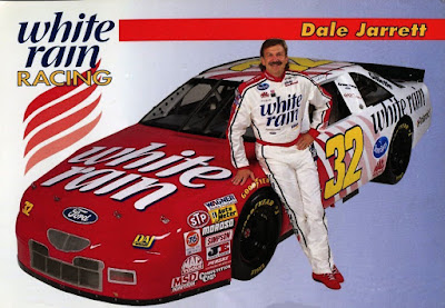 Dale Jarrett #32 White Rain Racing Champions 1/64 NASCAR diecast blog BGN