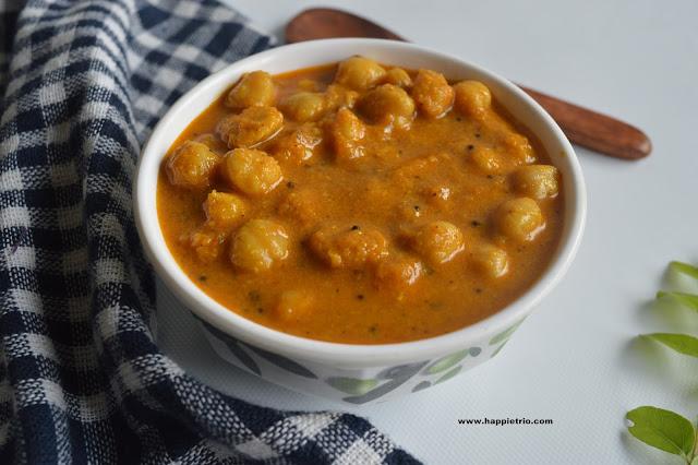 Channa Gravy | Chick Peas Gravy