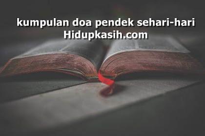 Kumpulan doa pendek sehari-hari terbaik dan lengkap 2019