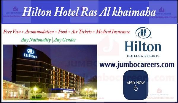 RAK 5 star hotel job description, Recent RAK job opportunities,  Latest 5 Star Hotel Jobs in Ras Al Khaimah | Hotel Hilton Ras Al Khaimaha Jobs and Careers 2018-2019