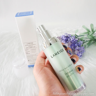 Review of Laneige All Day Anti-Pollution Defensor