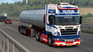 Van Der Ree Scania R500 mod