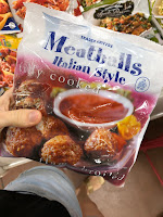italian meatballs meal soup trader joe's