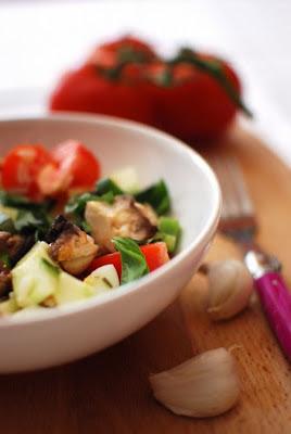 la salade de l'été simple et rapide