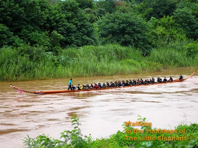 Boat Racing in Nan - Thailand