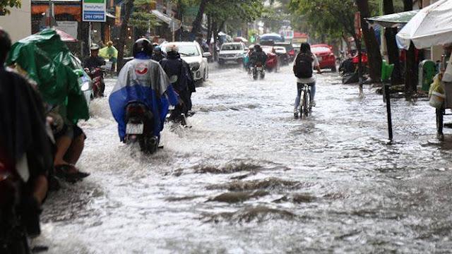 Ngập nước ở TP Hồ Chí Minh