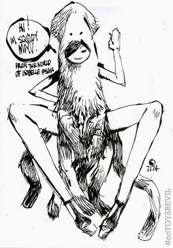 Squidy Fondle Miyu Shadow Krieger Kuma From 3a Toys
