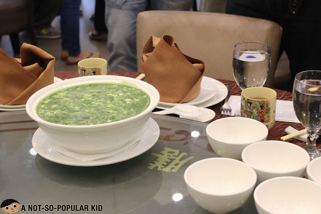 Spinach Soup of King Chef