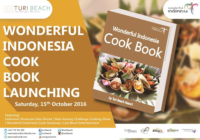 Visit Kepri Wonderful Indonesia Cook Book by Turi Beach