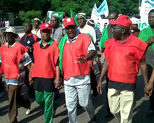 NLC begins nationwide protest