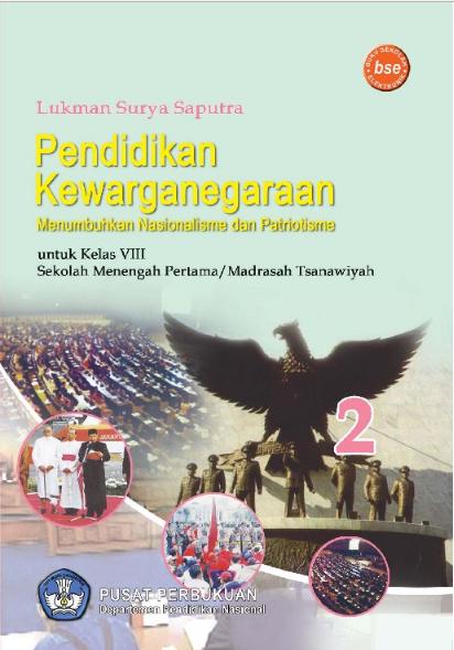 Download Buku Siswa KTSP SMP dan MTs Kelas 8 PKn Menumbuhkan Nasionalisme dan Patriotisme 2