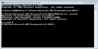 Command_to_Check_Dot_Net_Framework_Version