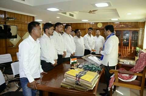 Delegation also met the honorable chief minister of Assam Shri Sarbananda Sonowal