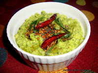 images of Radish  Mint Chutney / Mooli Mint Chutney / Mullangi Pudhina Thogayal