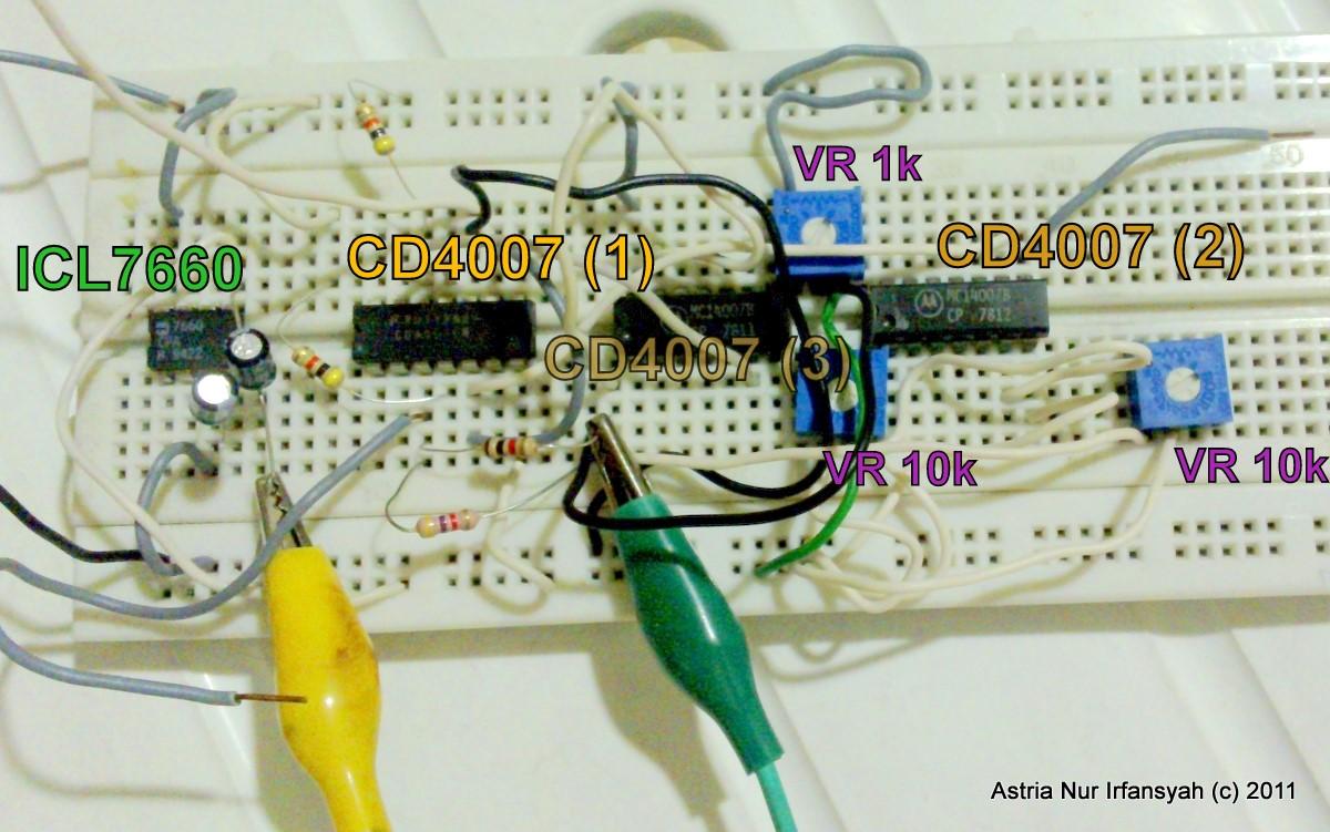 Hobi Mikro: Mencoba Membuat Op Amp CMOS Dengan Transistor