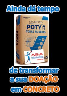 A ABA PRECISA DE CIMENTO - ABA NEEDS CEMENT