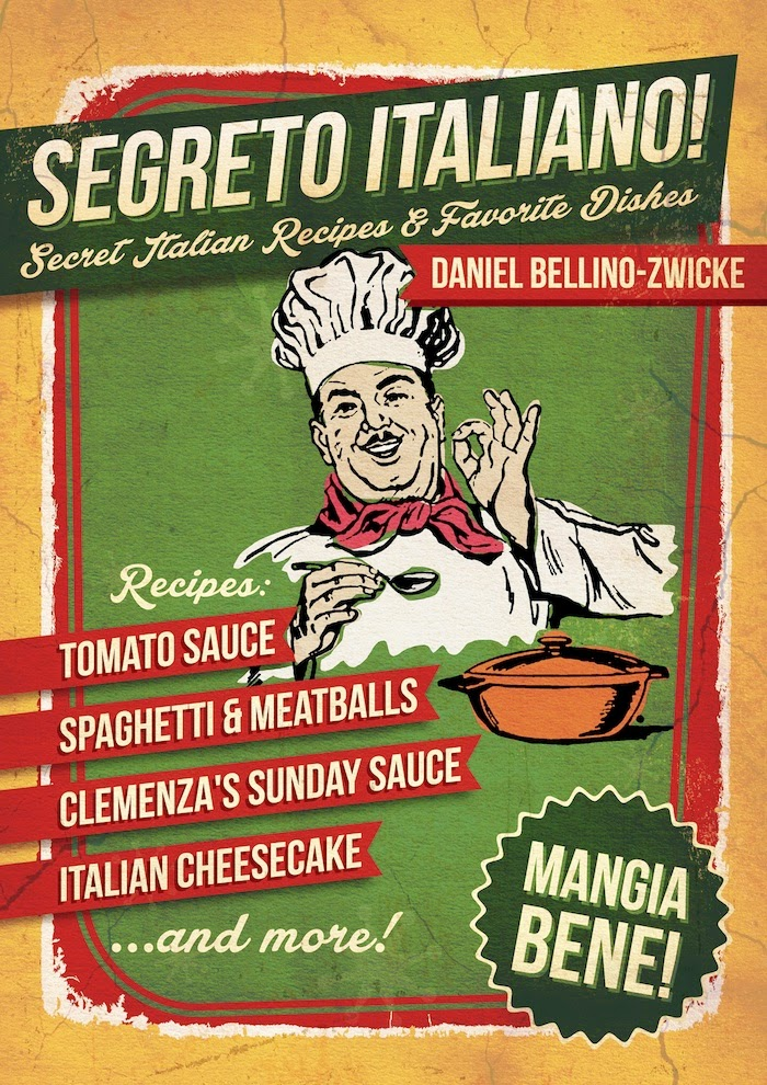 Recipes in SEGRETO ITALIANO .. Available at AMAZON.com