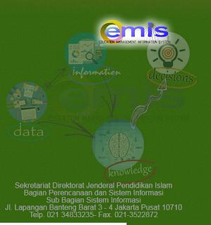 Download Form Data EMIS Semester Ganjil Tahun Pelajaran 2015/2016