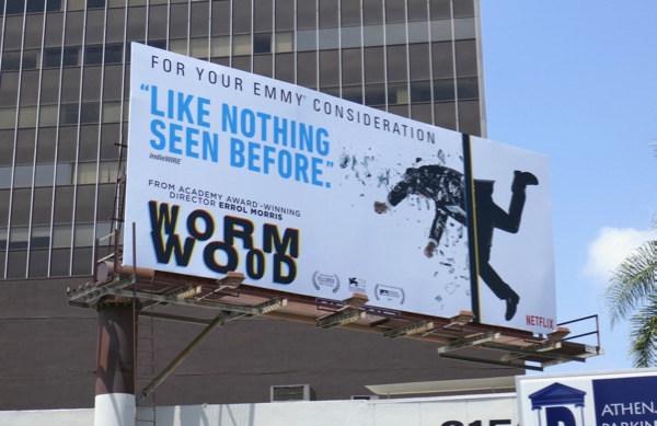 Wormwood 2018 Emmy FYC billboard