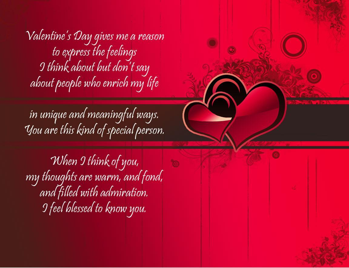 Valentines Day Quotes 2017 Best Wishes Sayings for Your Valentine – Best Valentine Greeting Card Sayings