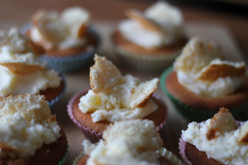 Easy Butterfly Butter Cream Cupcakes