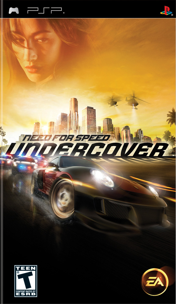 NFSUNC PSP PFTfront - Need for Speed Undercover For PSP