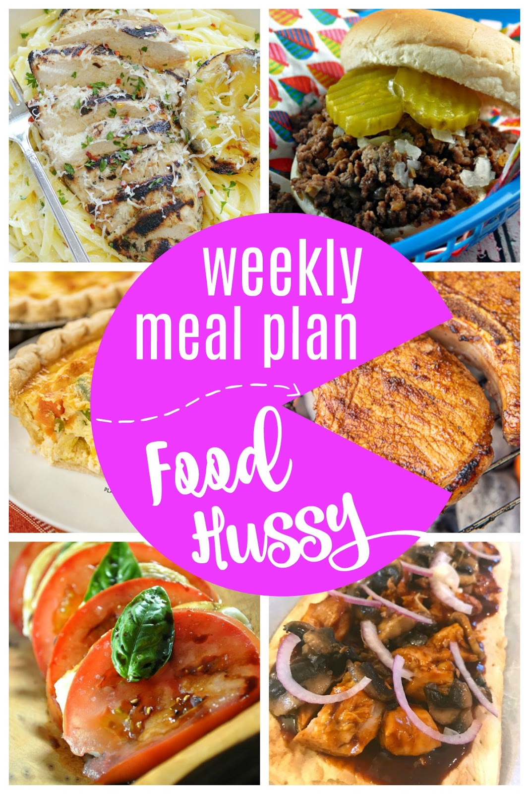 what can i make for dinner  weekly meal plan