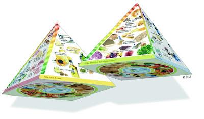 Pirámide alimentaria alemana