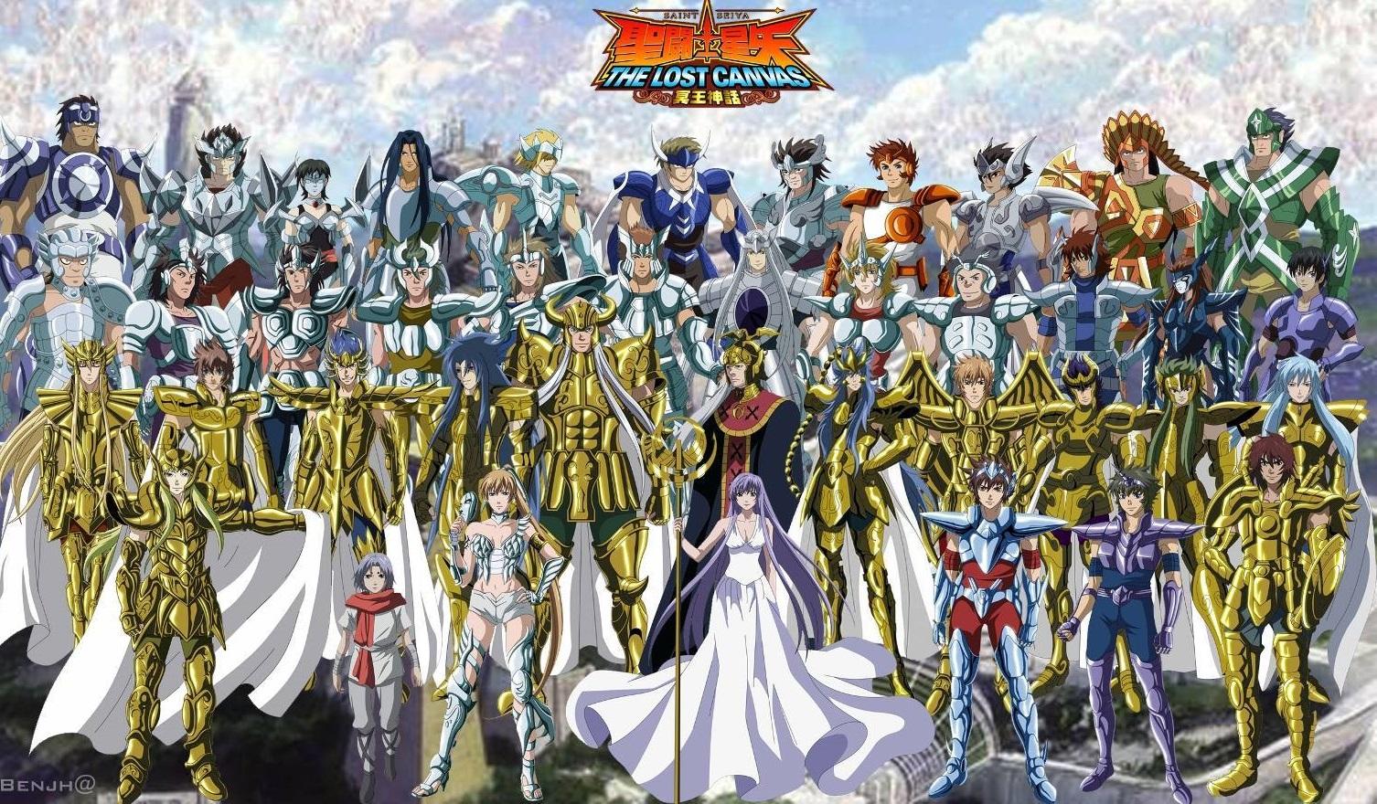 I Cavalieri Dello Zodiaco Anime Wikipedia