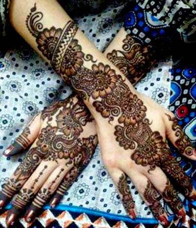 arabic mehndi dasigns ,fashion crazyixt