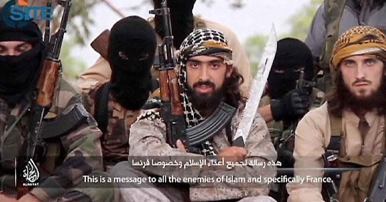 Três djihadistas franceses conclamam os muçulmanos na França em vídeo de propaganda do Estado Islâmico