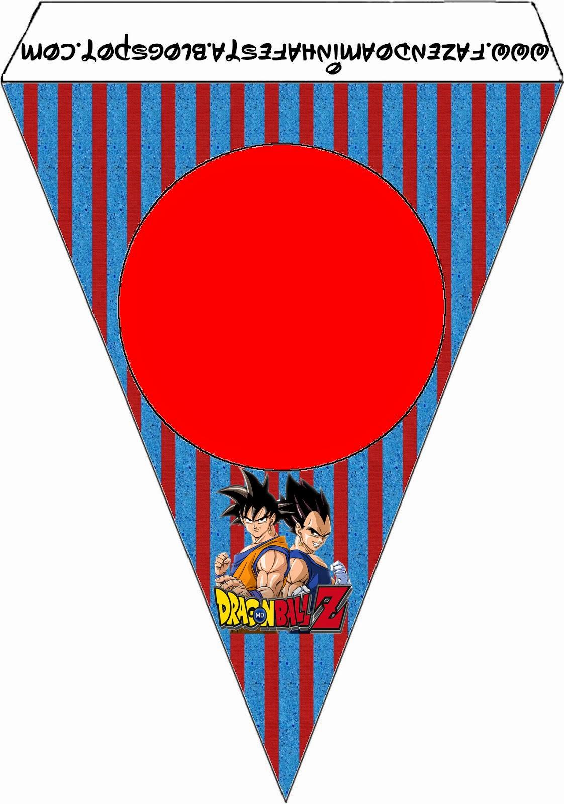 Dragon Ball Z: Imprimibles Gratis para Fiestas. | Ideas y material ...