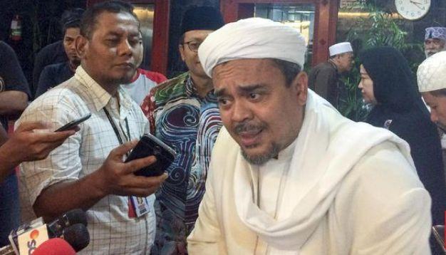 Merasa Dihina, Hansip Laporkan Habib Rizieq ke Polisi