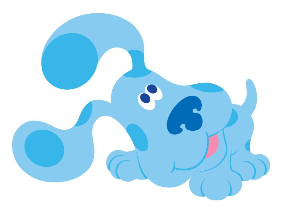 Cartoon Characters: Blue's Clues