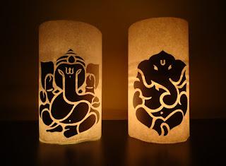 Illuminated Lord Ganesha