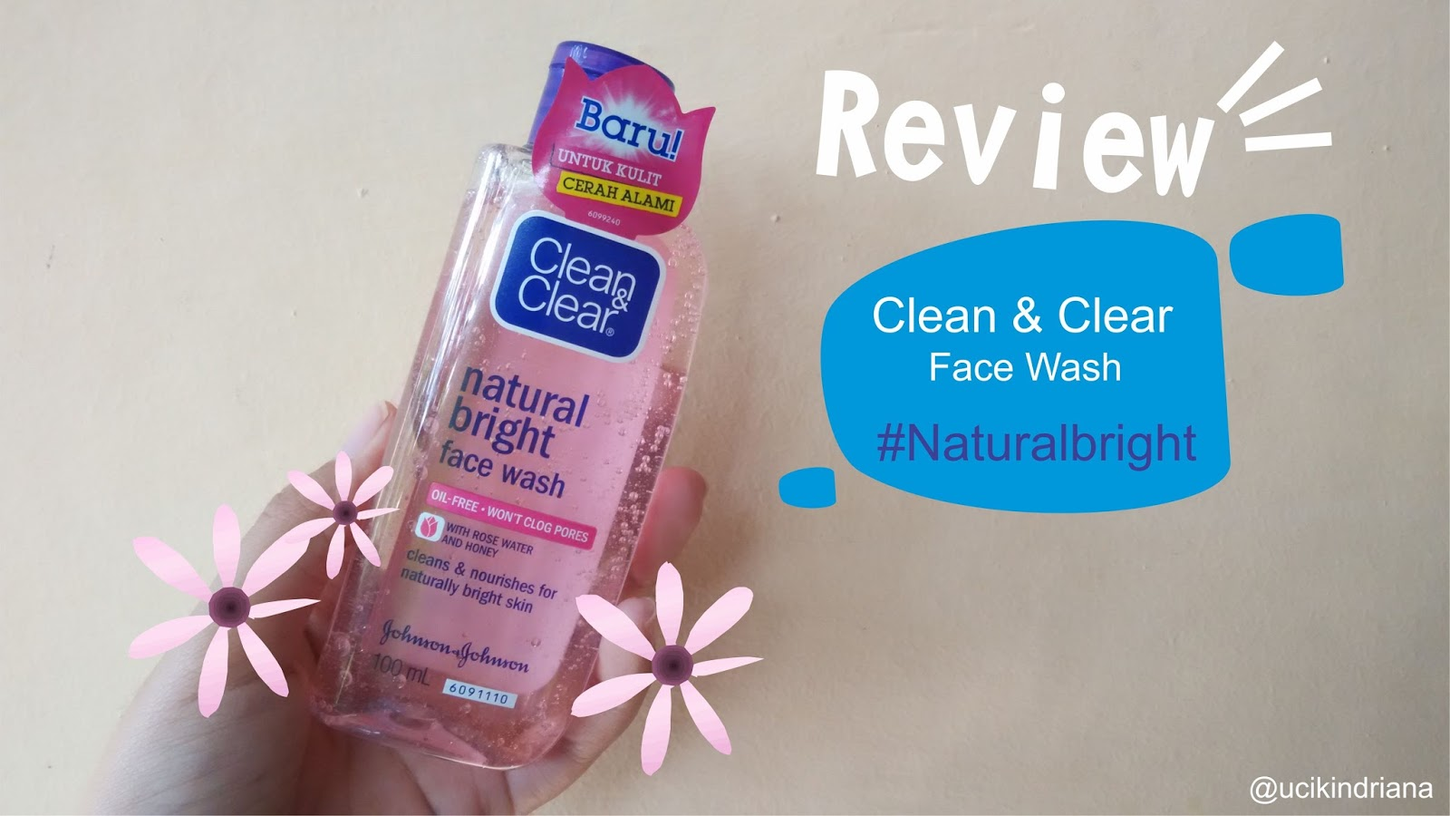 With you Review organic facial wash
