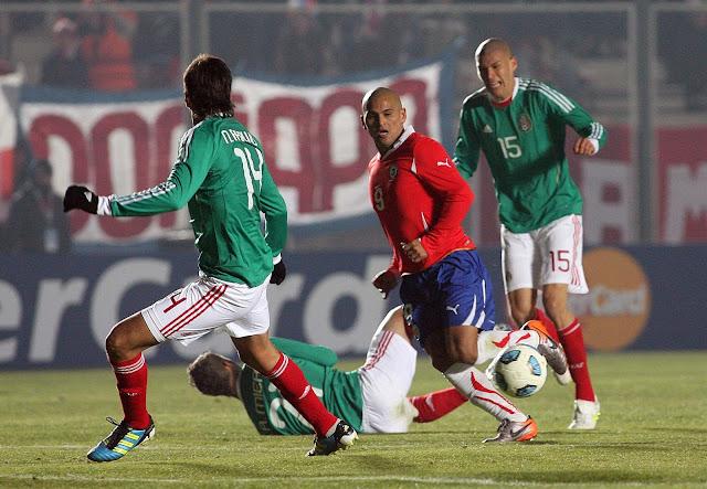 Chile y México en Copa América 2011, 4 de julio