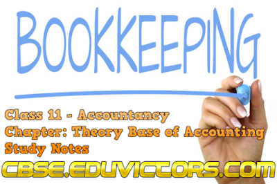 CBSE Class 11 - Accountancy - Theory Base of Accounting - Introduction to Book Keeping (#cbsenotes)(#eduvictors)