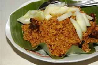 Tempat Wisata Kuliner di Semarang, Nasi Goreng & Gongso Babat Pak Karmin