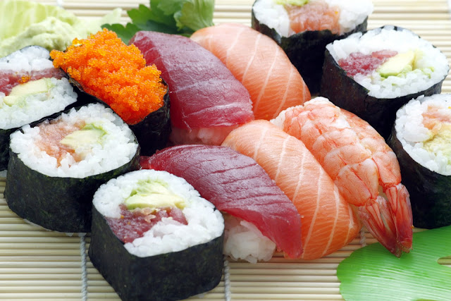 お寿司の集合写真