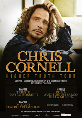 Chris Cornell - Tour italiano - 2016