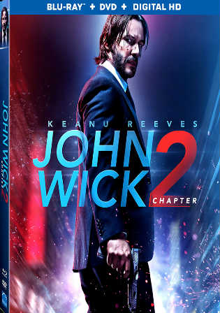 John Wick Chapter 2 2017 BRRip 350Mb Hindi Dual Audio 480p Watch Online Full Movie Download bolly4u