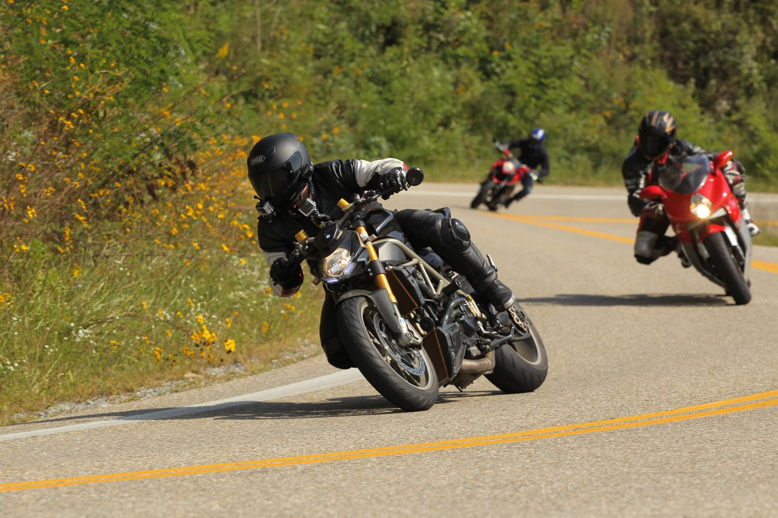 Tigh Loughhead rides Ducati and MV Agusta Motorcycles on the Tail of the Dragon North Carolina