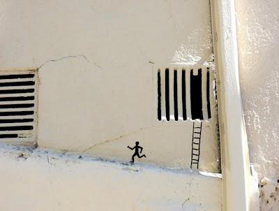 fotos de ingenioso arte urbano