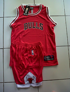 Jual Jersey Basket Anak Chicago Bulls Merah di toko jersey jogja sumacomp, murah berkualitas