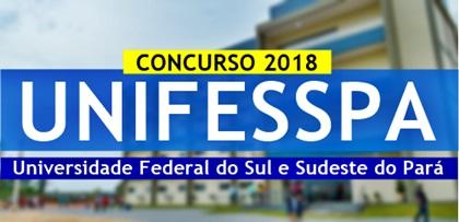Concurso UNIFESSPA 2018