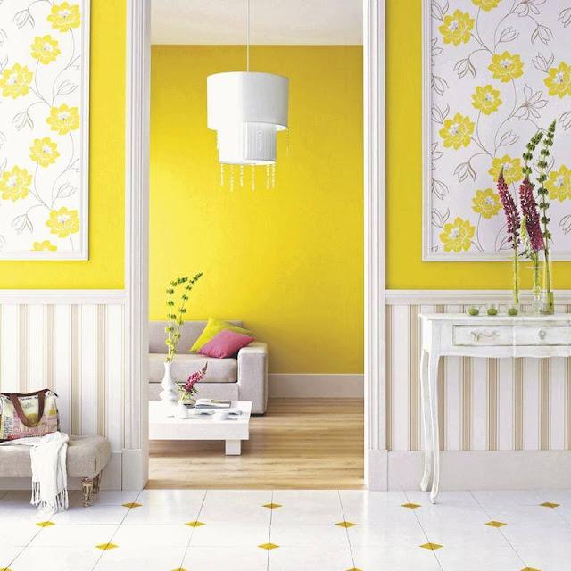 Cele mai frumoase interioare amenajate în galben [ I ]