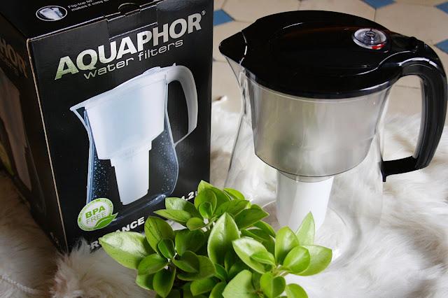 Zdrowa woda z dzbankiem filtrującym Aquaphor