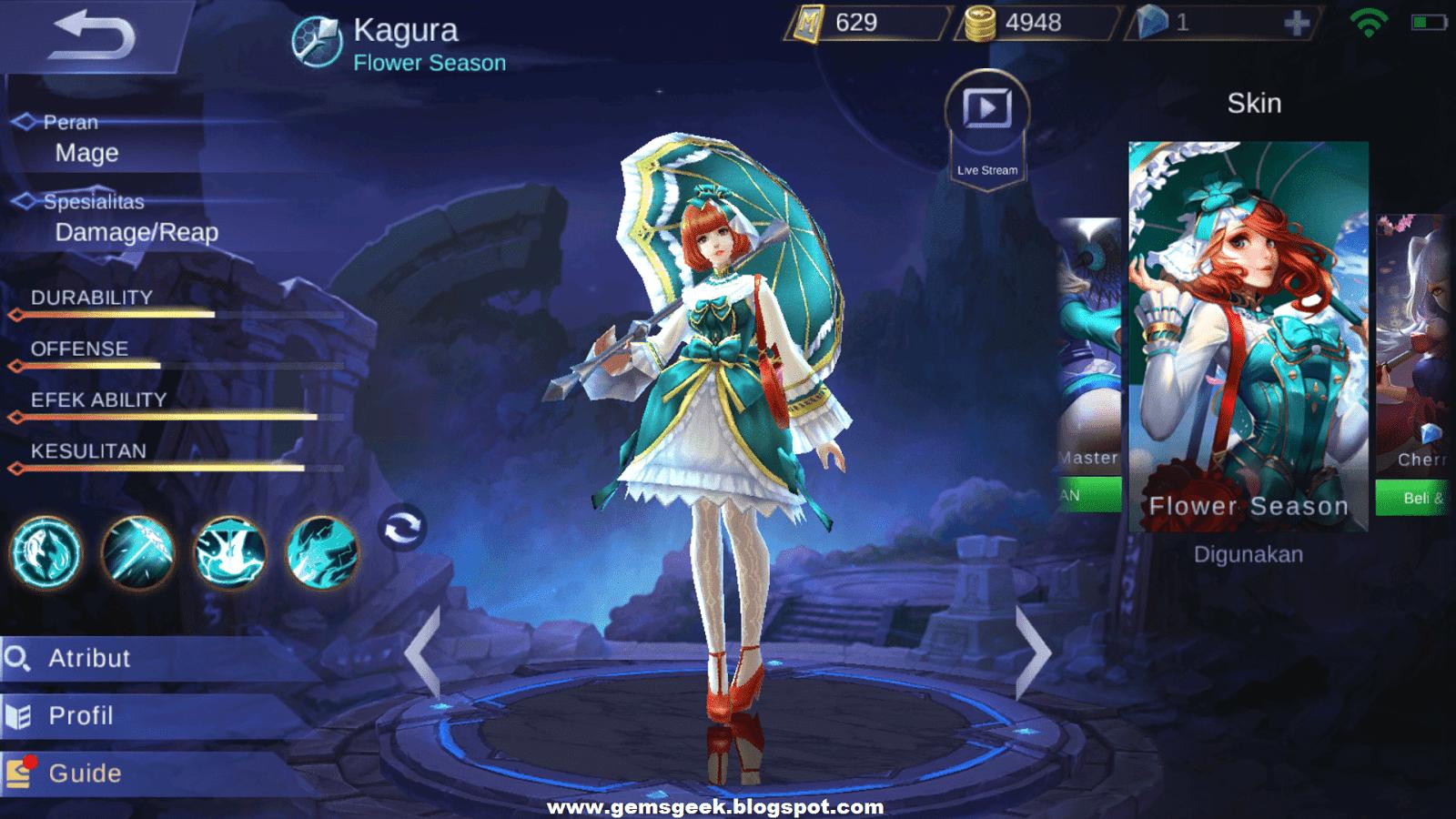 Kagura Mobile Legends The Master Onmyouji And The Legendary Seimei